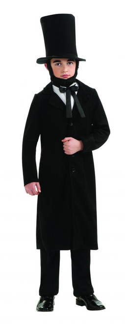 Abraham Lincoln president kids boys Halloween School costume