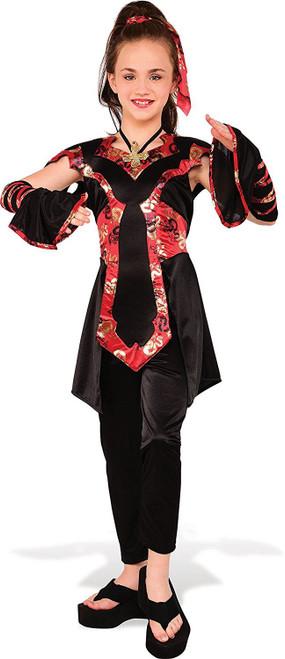 girls Dragon Ninja kids Halloween costume