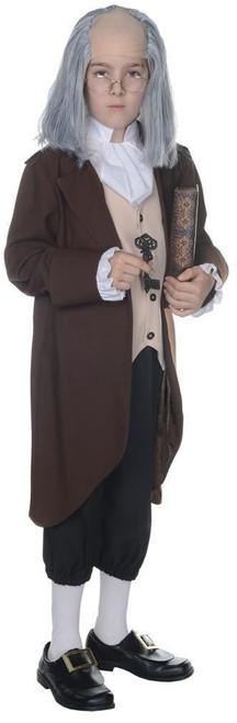Ben Franklin Kids Halloween Costume