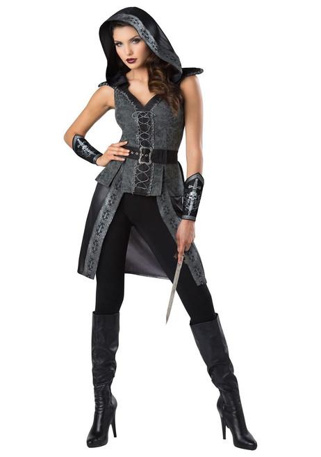 Dark Woods Warrior Huntress Womens Costume