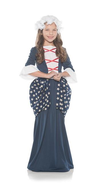 Girls Betsy Ross Dress Costume