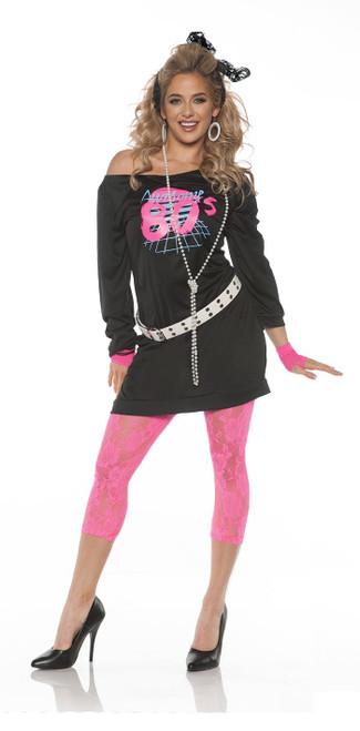 Womens Awesome 80's Halloween Halloween Costume
