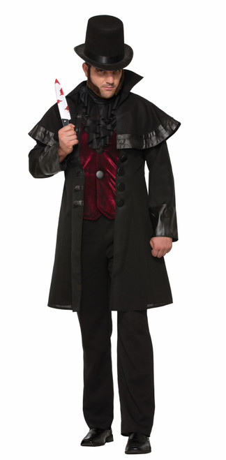 Mens Jack The Ripper Halloween Costume One Size