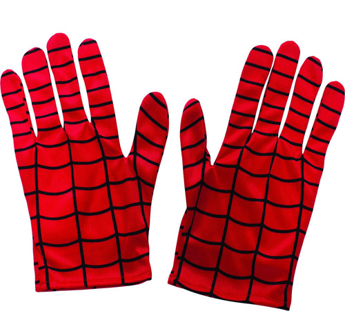 kids boys short Spiderman Spider-man gloves costume accessory