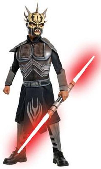 black SAVAGE OPRESS star wars clone attack boys kids halloween costume SMALL 4-6