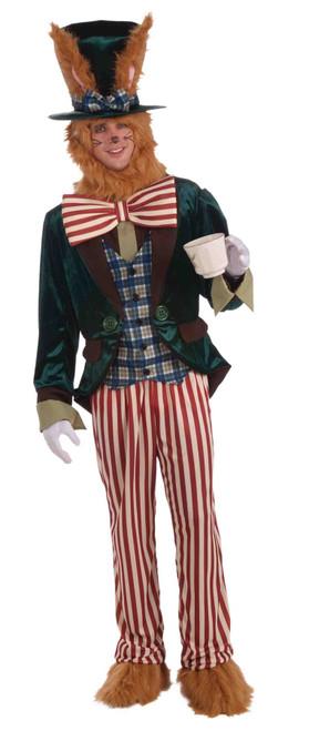 March Hare Alice in Wonderland adult mens Halloween costume