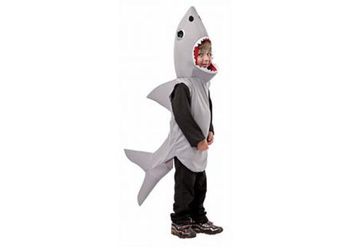 Sand Shark Sea Animal Costume Toddler 3T - 4T