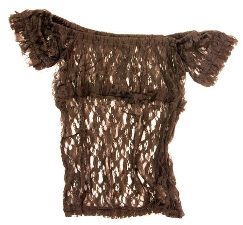Burleska Women's Gypsy Peasant Underbust Corset Top XL/2XL