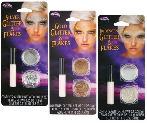 Glitter and Flakes Tattoo