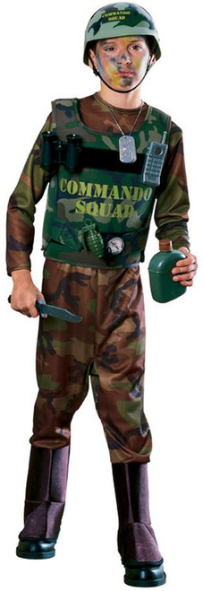 Army WW2 Private Mens Soldier Costume 64075