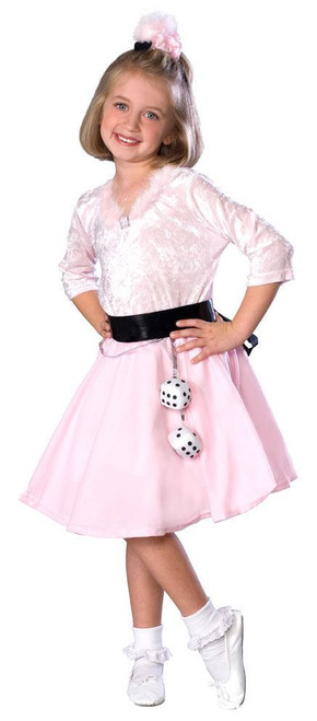 50s GIRL poodle dress girls halloween costume Toddler 2