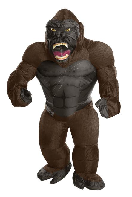 Skull Island inflatable King Kong adult costume