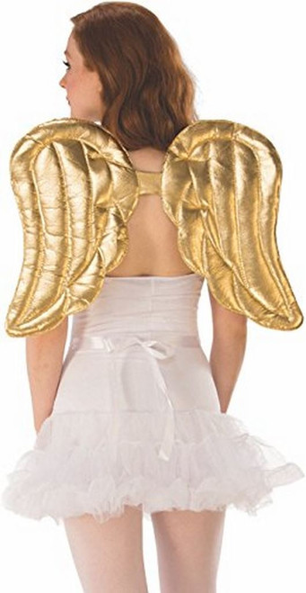ClausPlay Quilted Gold Angel Wings