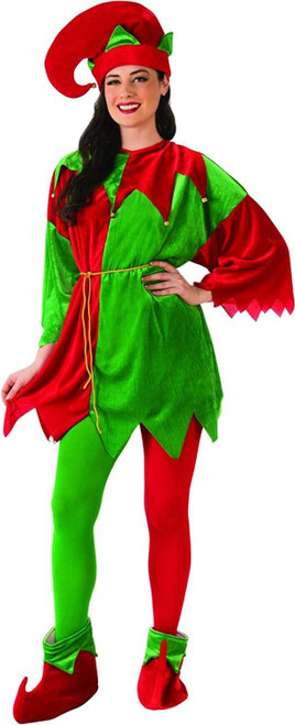 Elf -  Velour Long Sleeve Set - Unisex- w/ Shoes -Deluxe