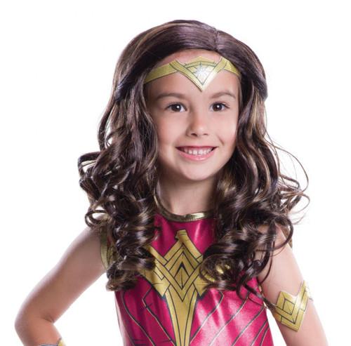 kids Wonder Woman Wig womens Halloween costume accessory