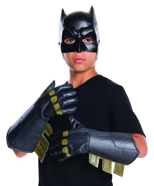 Batman v. Superman Dawn of Justice Batman Gauntlet Gloves boys costume accessory