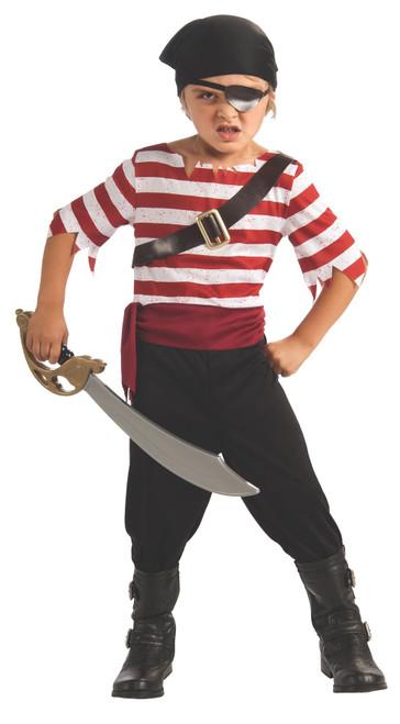 Kids Black Jack The Pirate Child Halloween Costume
