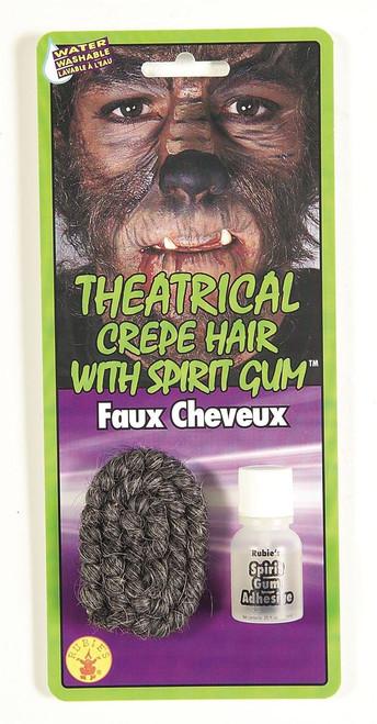 Crepe Hair with Spirit Gum