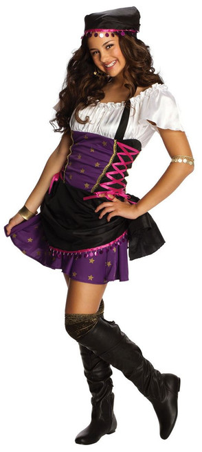 Gypsy Pirate Witch Girls Costume 886286