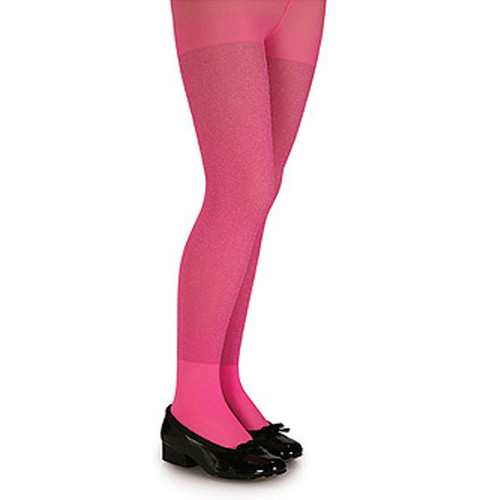 Pink Glitter Tights Adult Womens Costume Accessory