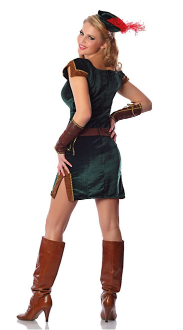 Lady Sherwood Robin Hood Sexy Womens Costume