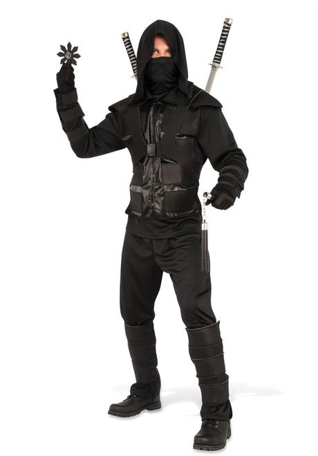 Adult Dark Ninja Costume mens Halloween costume