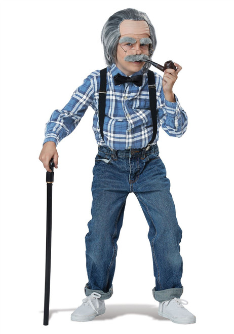 Child Old Man Dress Up Kit