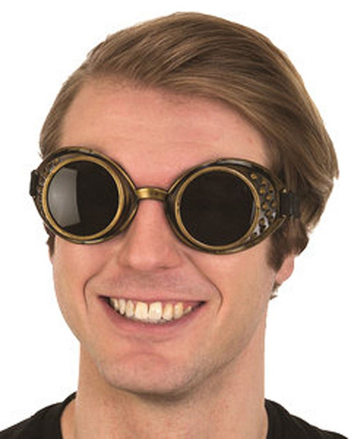 Adult Steampunk Victorian Goggles Costume Accessory