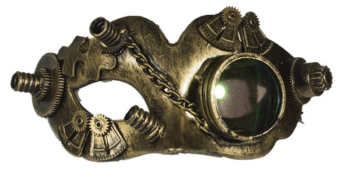 Steampunk Mask With Glass Eye