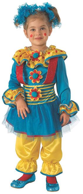 Rubies Costumes Girls Clown Dotty The Child Clown Halloween Costume