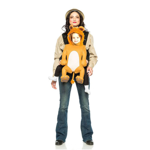 Baby & Me - Safari Guide & Lion Matching Adult Costume