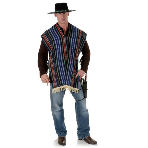 Adult Bandito poncho costume accessory