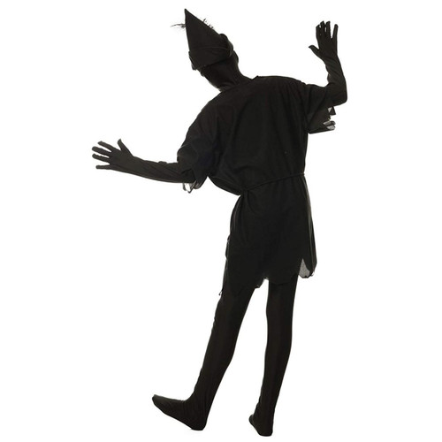 Peter pan shadow large child's halloween costume