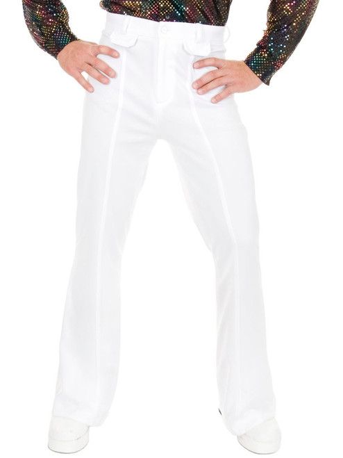 Boys White Disco Pants