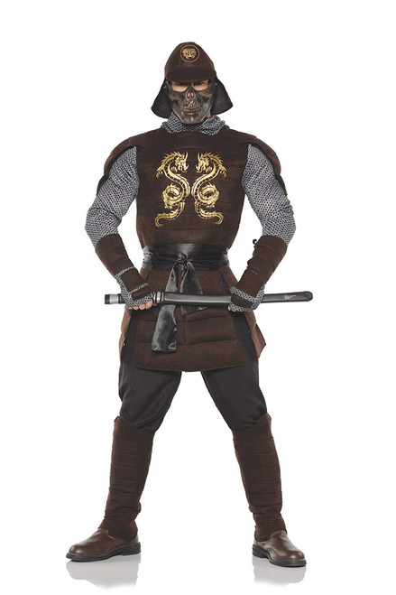 Mens Samurai Warrior Costume One Size
