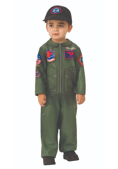 Top Gun Toddler Romper Costume