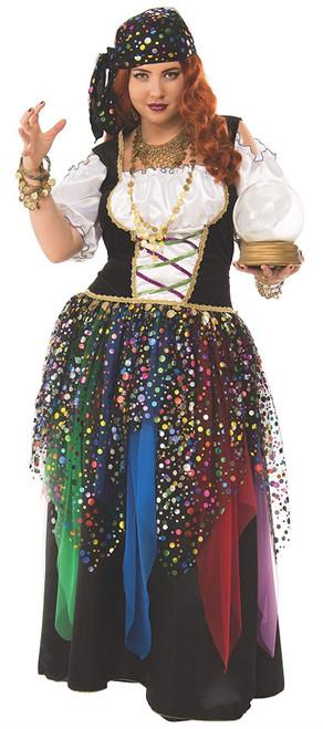 Rubie's Gypsy Curvy Womens Costume Plus Size