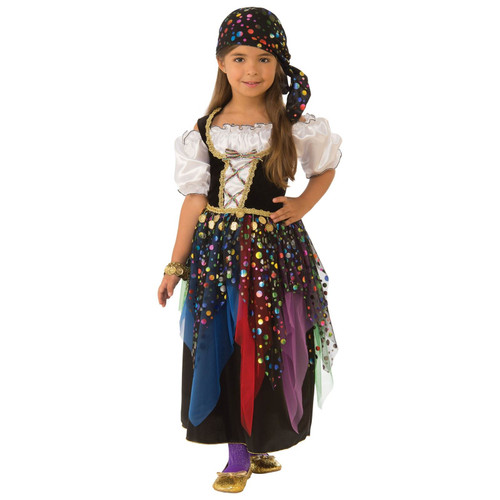 Gypsy Girls Costume - Medium