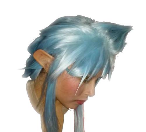 Ryoko Ears Latex Cosplay Prosthetic Halloween Costume Makeup