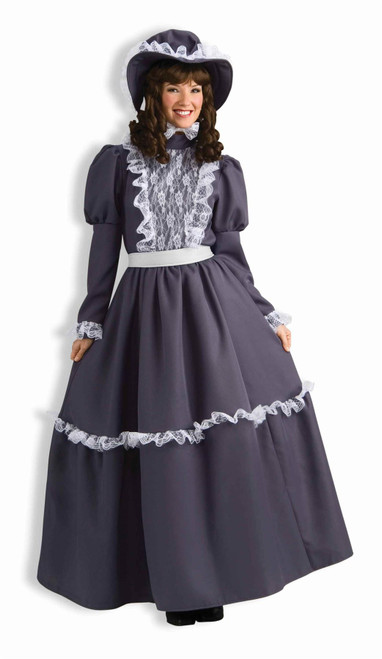 Prairie Lady Pioneer adult womens Halloween historical costume STD size