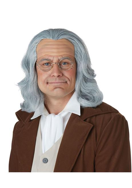 Benjamin Franklin Wig - Adult Size