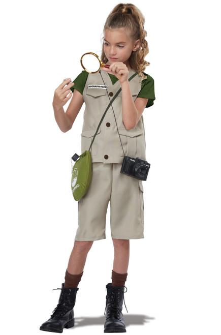 Wildlife Expert/Archaeologist Child Costume - Medium