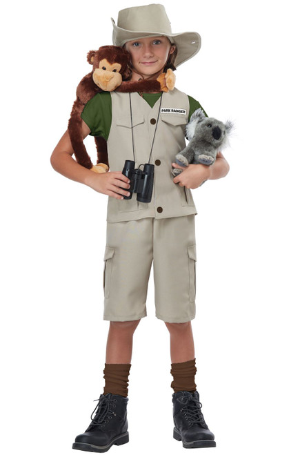 Wildlife Expert/Archaeologist Child Costume - Medium