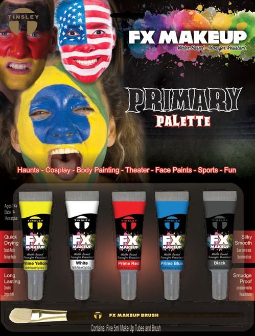 Tinsley Fx Colour Make Up Kits - Prime/Clown Palette