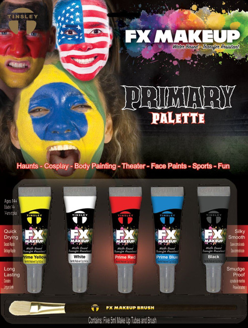 Tinsley Fx Colour Make Up Kits - Prime/Clown Palette