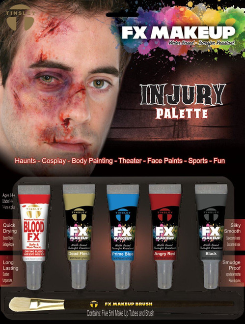Tinsley Fx Colour Make Up Kits - Injury/Bruise Palette