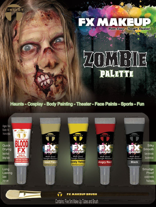 Tinsley Fx Colour Make Up Kits - Zombie Palette