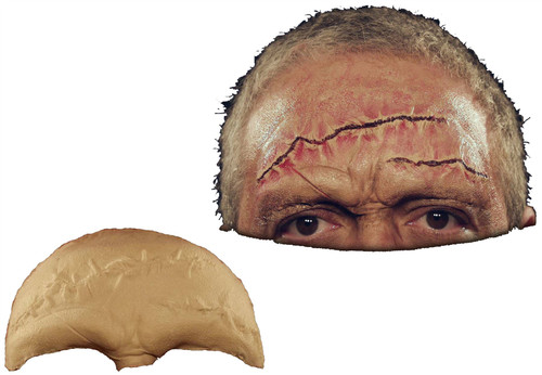 Stitched Brow Foam Latex Prosthetic