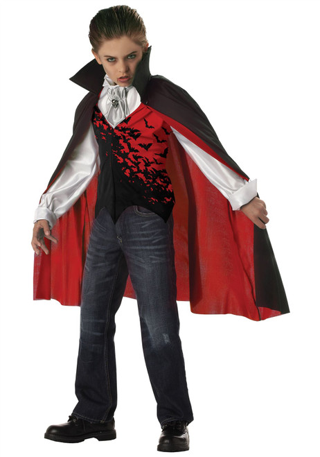 Boys Prince of Darkness Vampire Costume