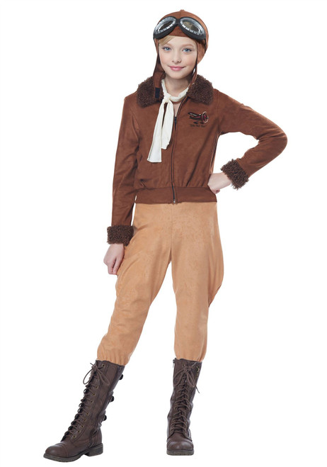 Child Amelia Earhart/Aviator Costume